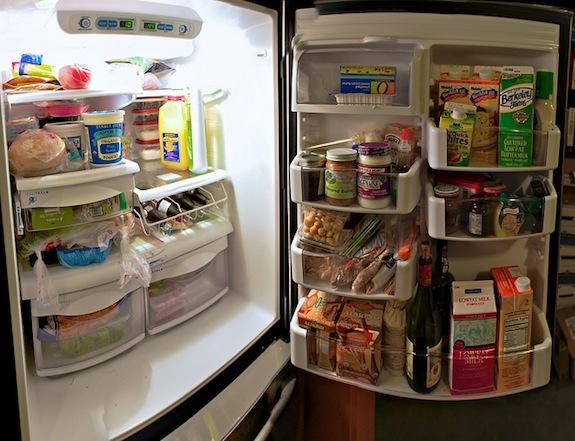 Gli alimenti da conservare parte alta frigorifero