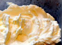 Tempo conservazione di crema chantilly in frigorifero