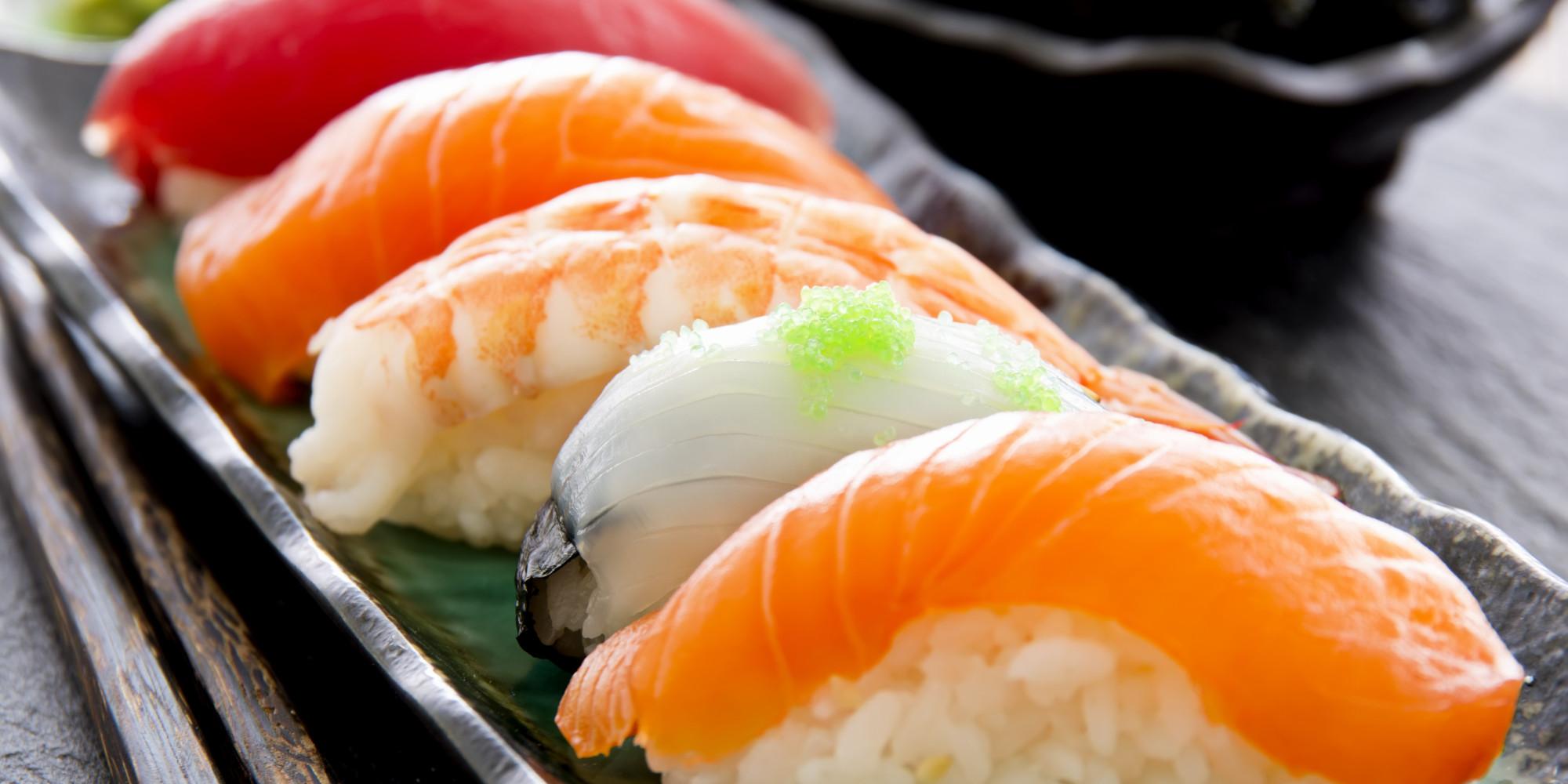 Pesce per sushi, i migliori tipi