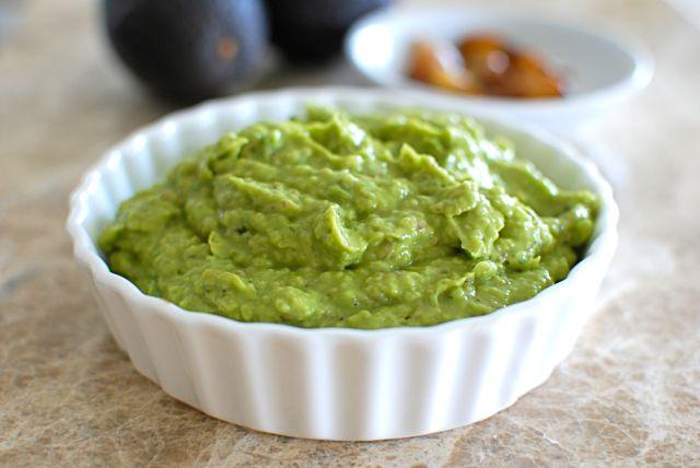Ingredienti salsa guacamole