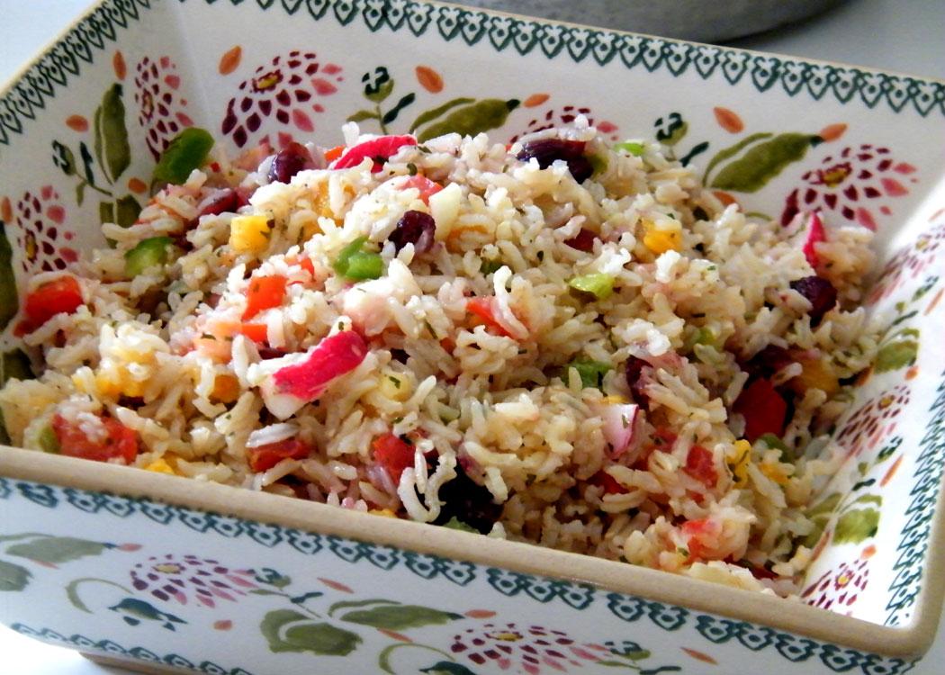 Ricetta alternativa insalata di riso