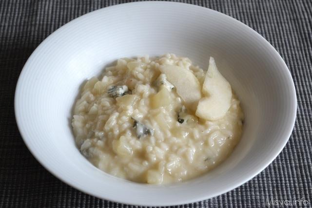 Ricetta riso pere e cannella