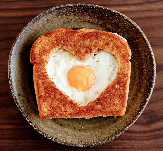 Ricetta: Uovo in cornice