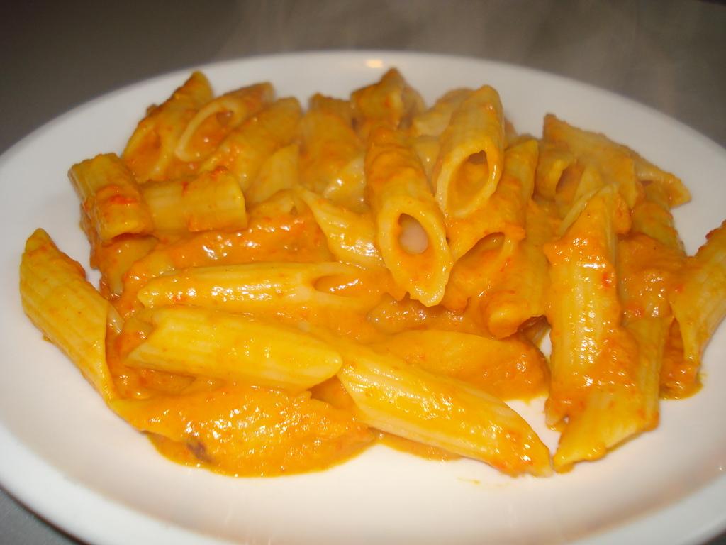 ricetta pasta alla crema di zucca