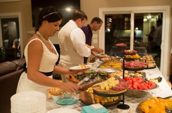 consigli su come realizzare cena a buffet a casa