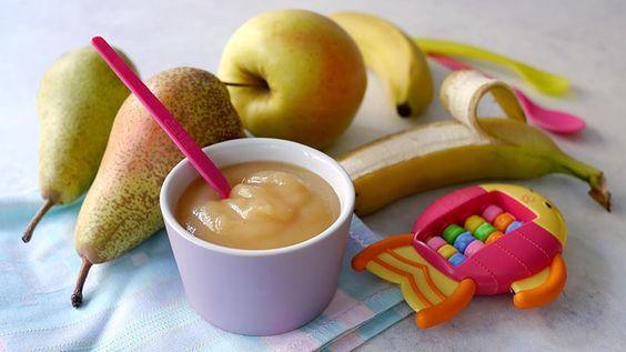 omogeneizzato pera mela banana