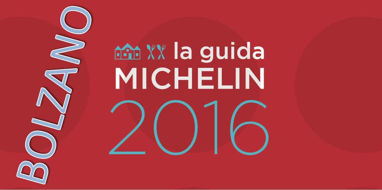 Migliori ristoranti Michelin 2016 a Bolzano e provincia