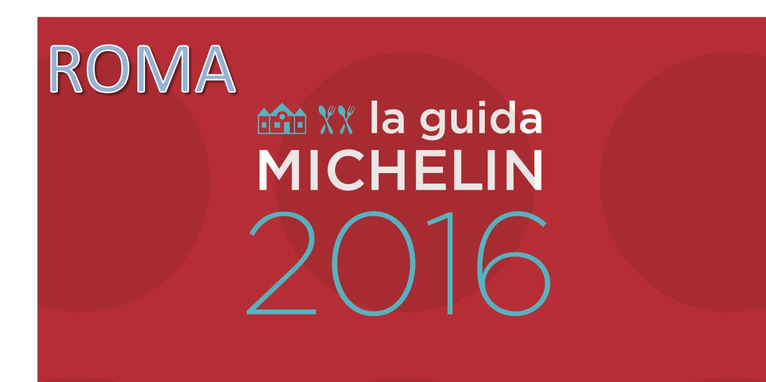 Migliori ristoranti Michelin 2016 a Roma