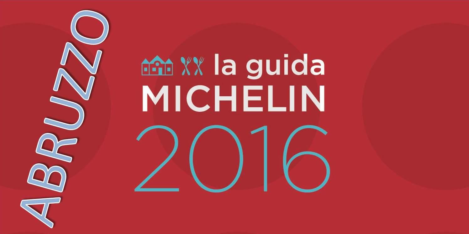 Migliori ristoranti Michelin 2016 in Abruzzo