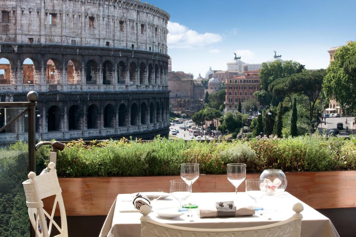Pranzo vista Colosseo Roma 10 indirizzi