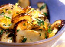 Come cucinare i funghi in modo dietetico