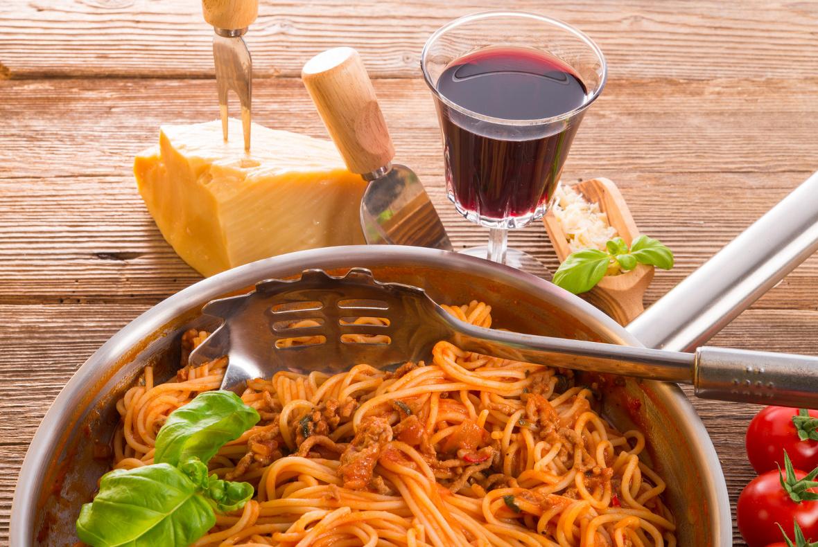 spaghetti al sugo big 1