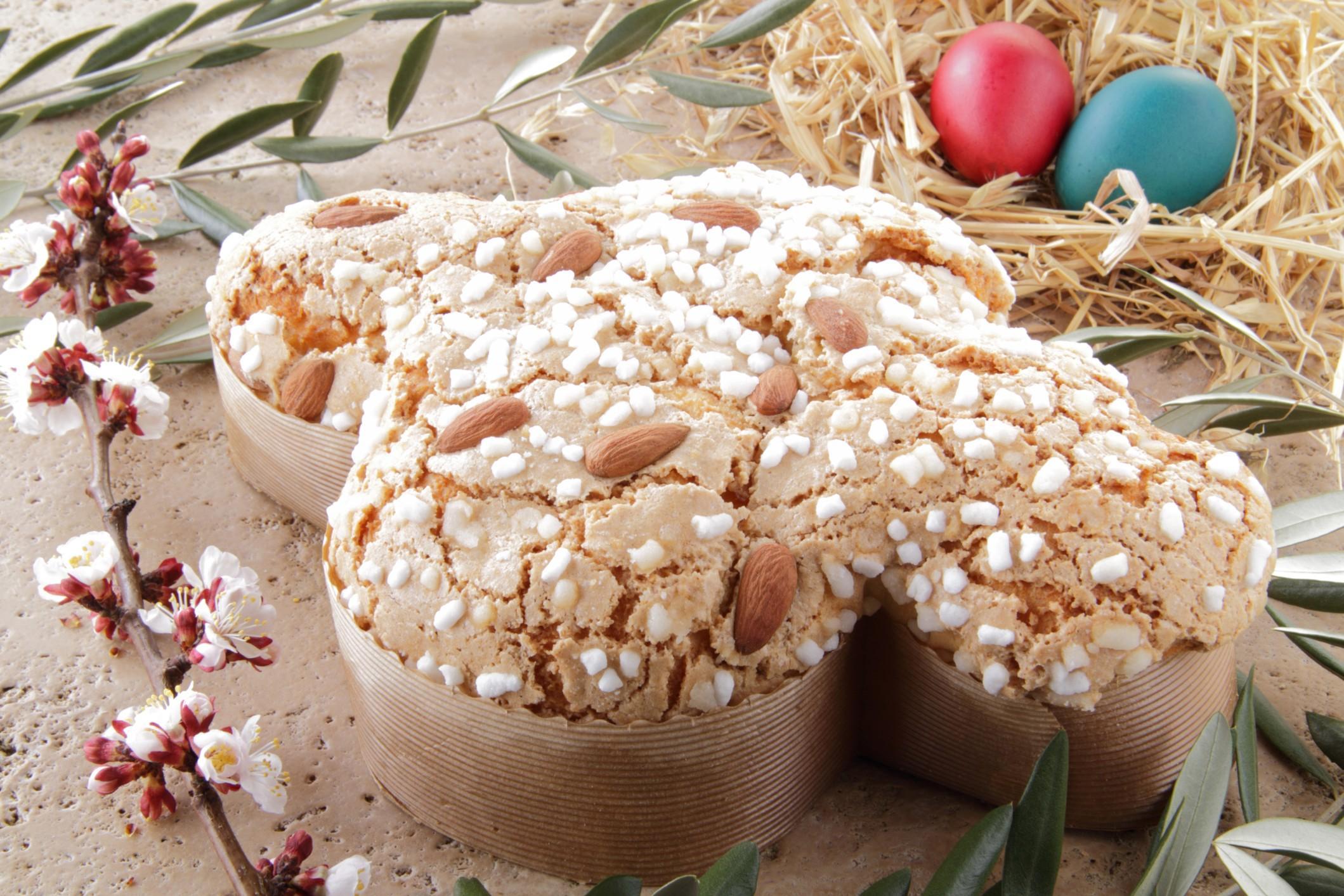 dolci pasquali al forno-20 ricette - colomba pasquale