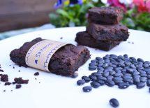 Brownies cacao e fagioli neri