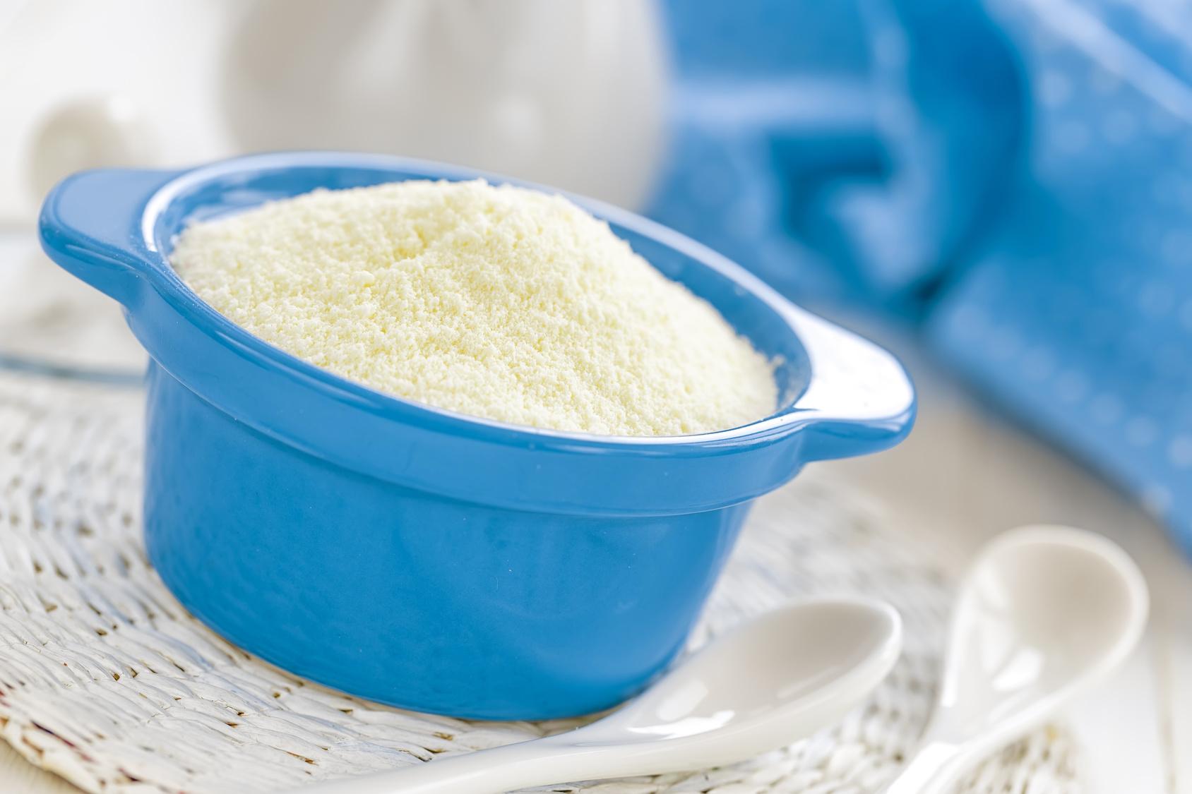Come sostituire il latte in polvere nelle ricette