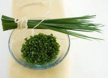 Come sostituire erba cipollina