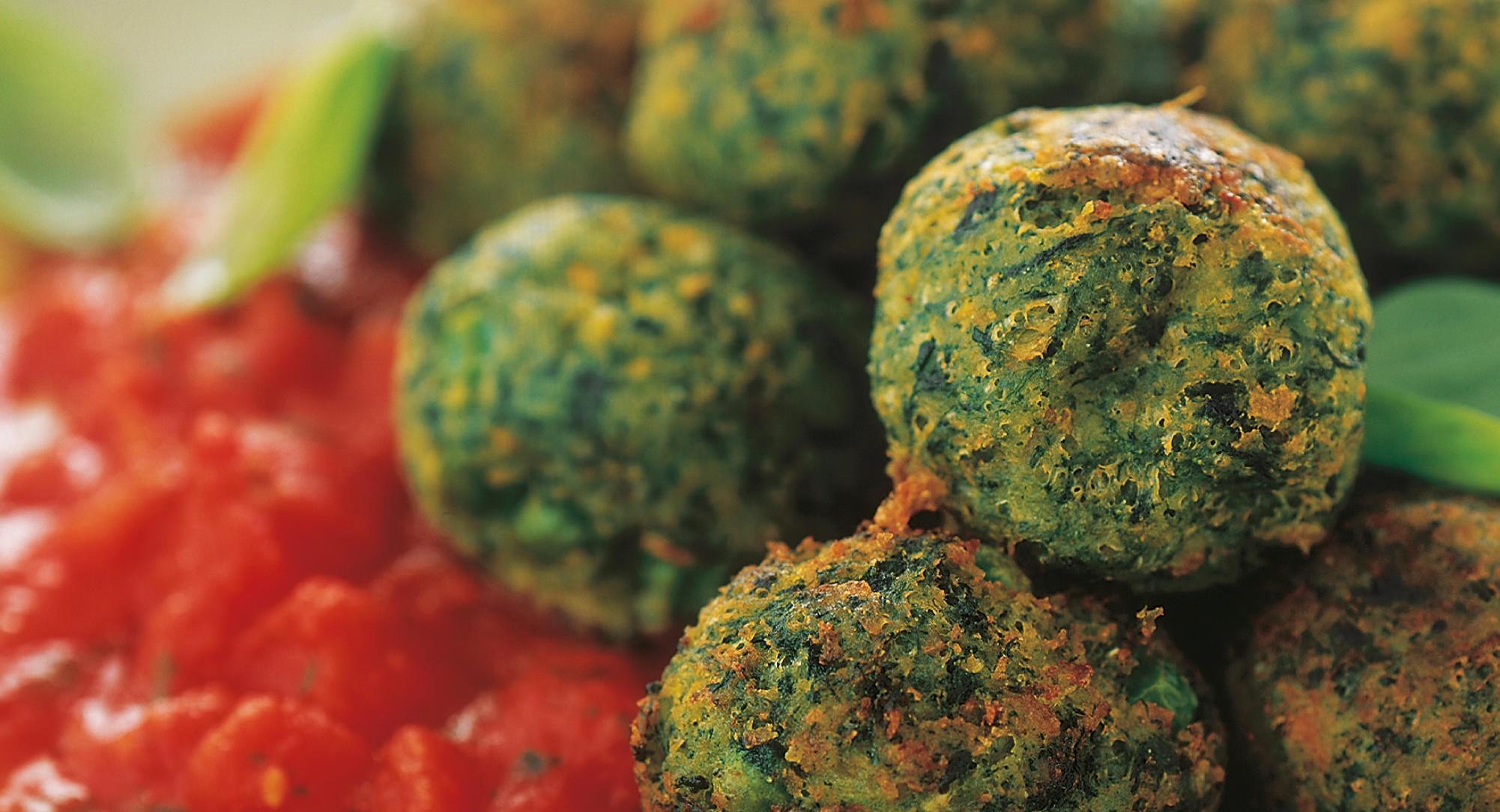 polpette vegetariane al forno-10 ricette