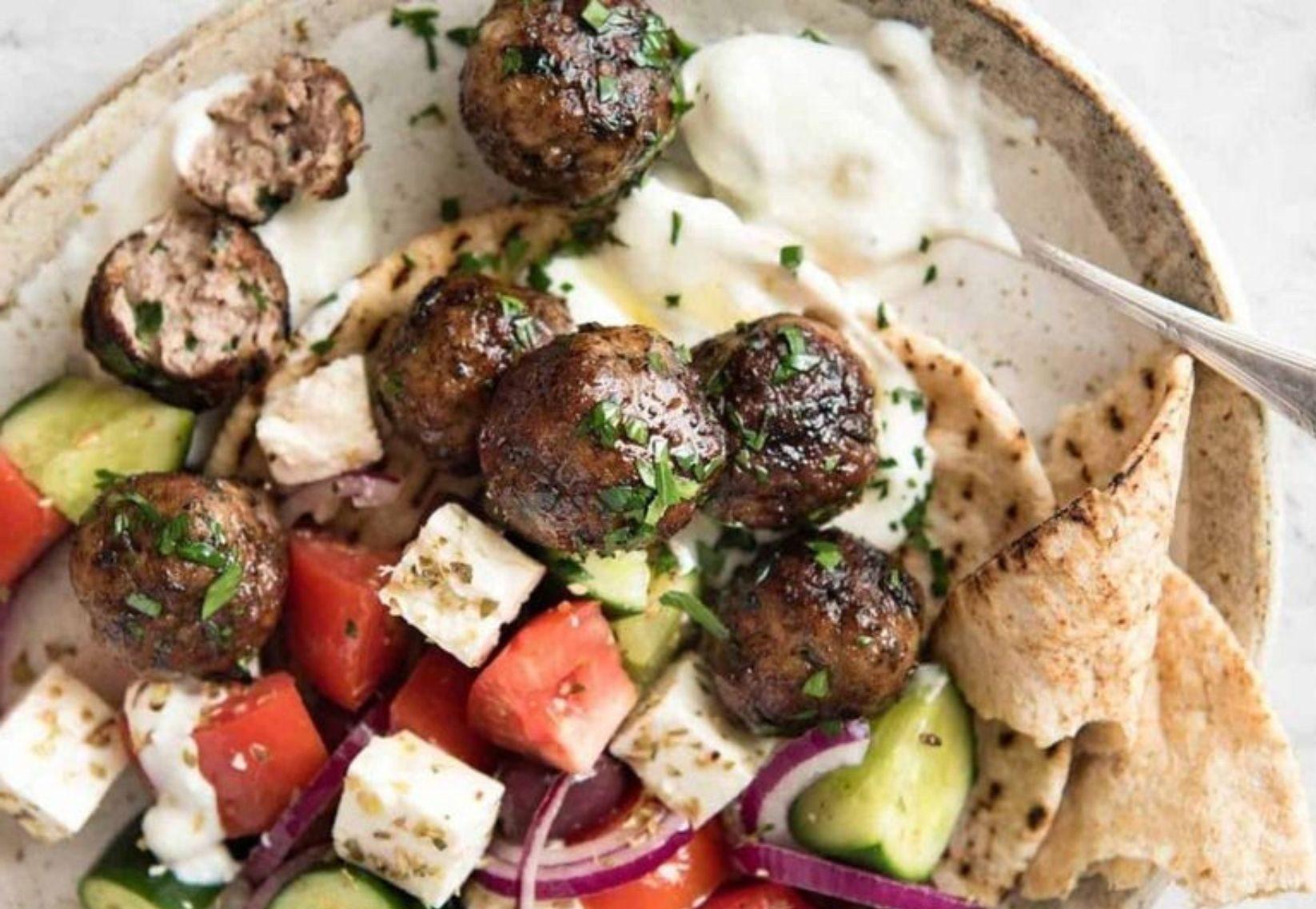 Idee cena greca in casa