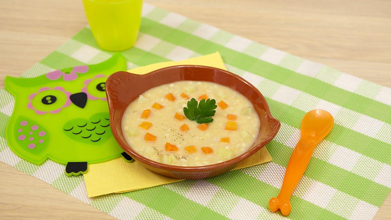 10 ricette di minestre per bambini