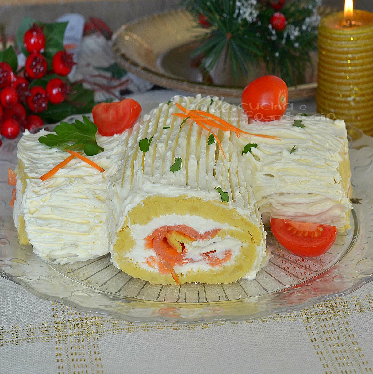 Tronchetto Di Natale Sale E Pepe.10 Tronchetti Salati Facili E Veloci Food Blog