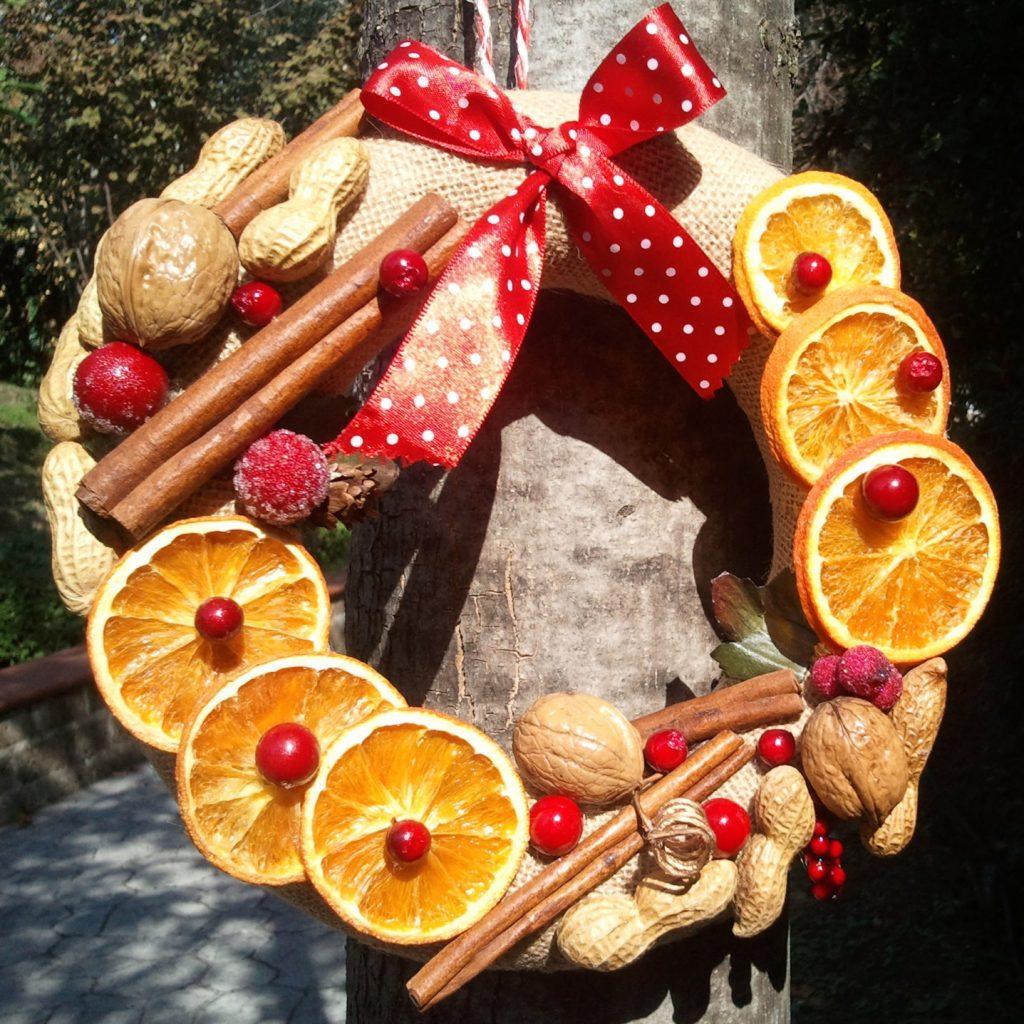 Addobbi Natalizi Con Frutta ghirlanda natalizia con frutta: 5 idee | food blog
