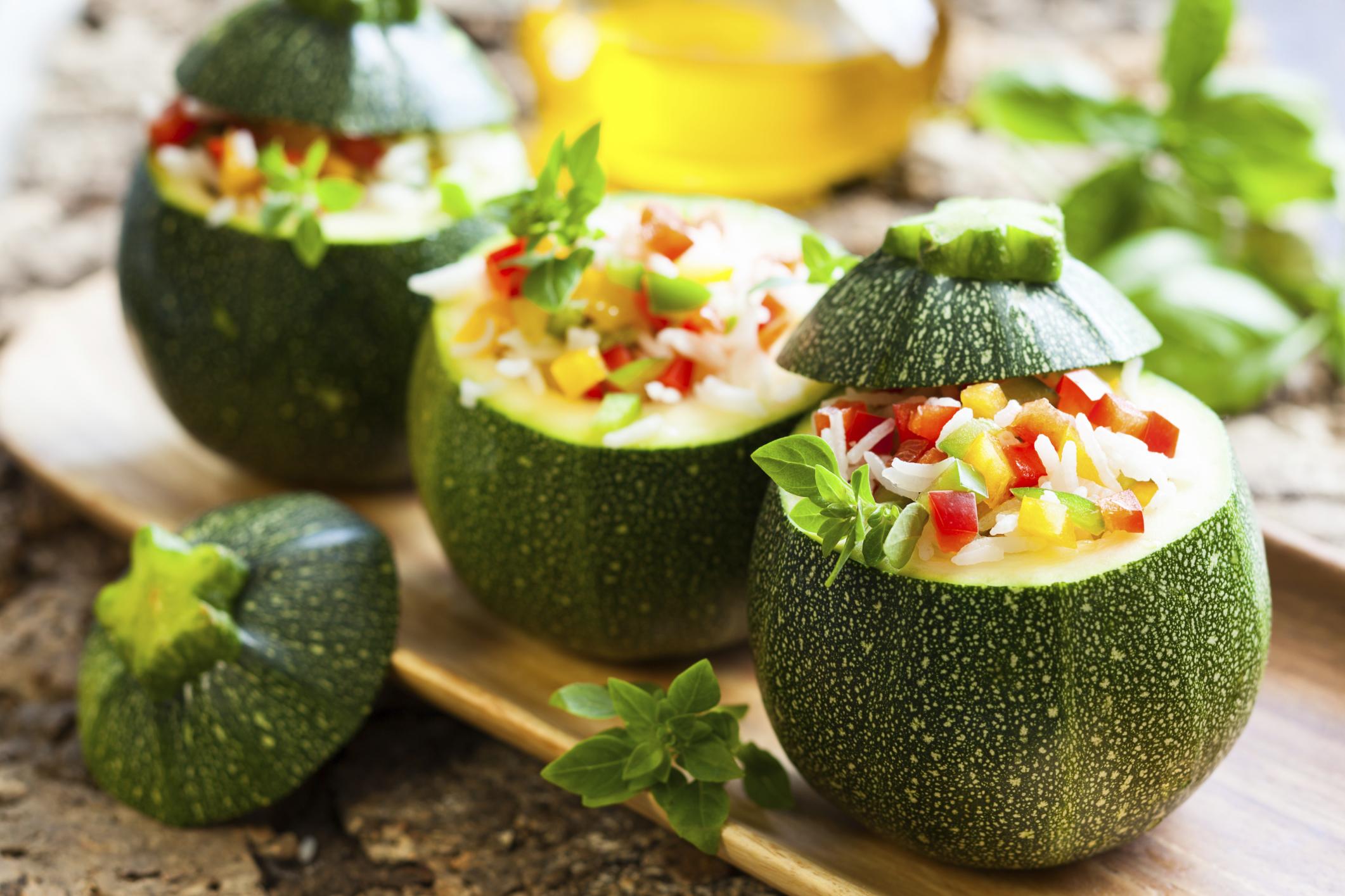 verdure ripiene vegetariane