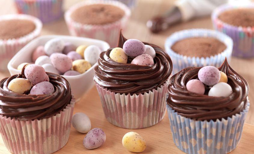 Cupcakes con ovetti 1