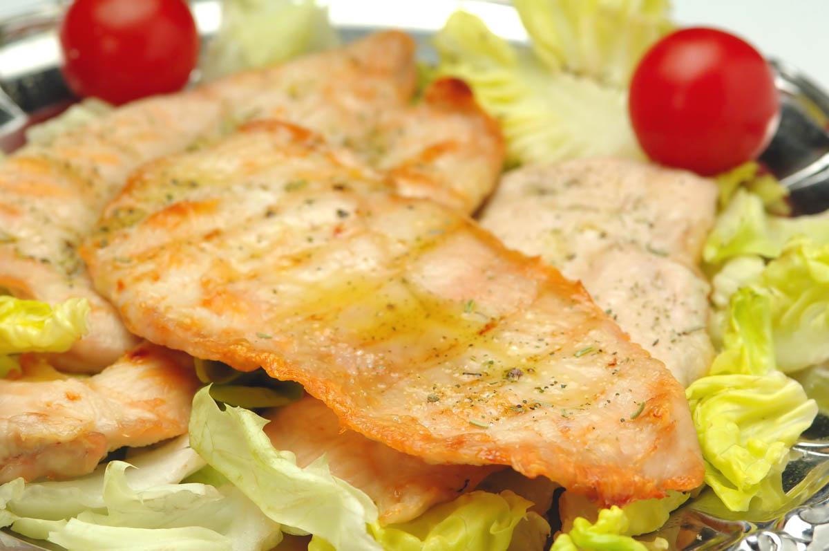 Scaloppine di pollo senza glutine