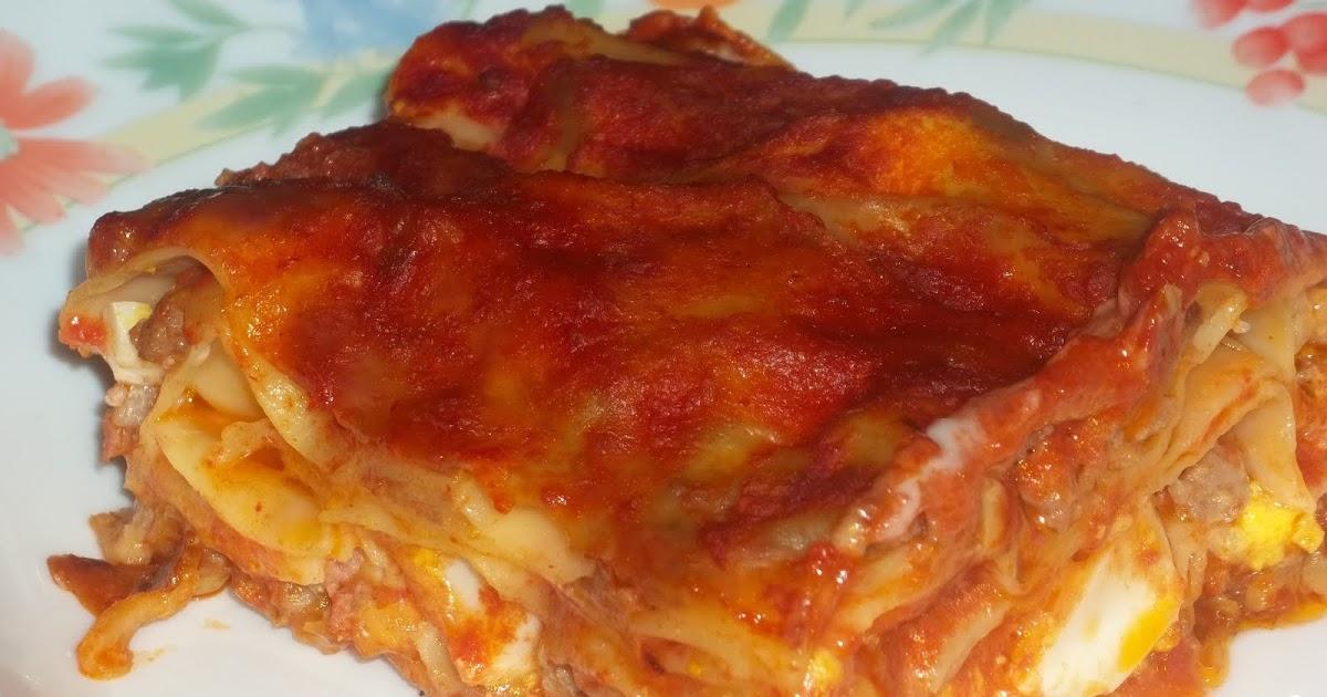lasagne pesto e pomodorini con speck