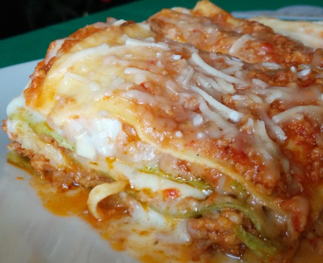 lasagne melanzane e zucchine con bimby