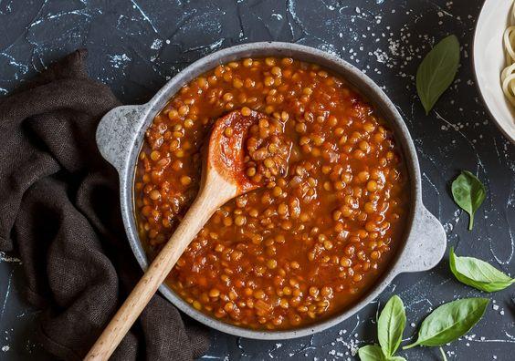 lenticchie al sugo