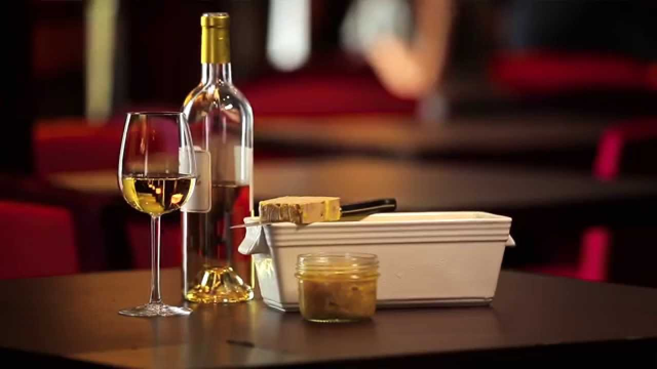 foie gras e vino