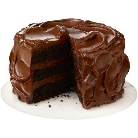 torta di cioccolato a strati