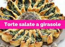 Torta salata a girasole