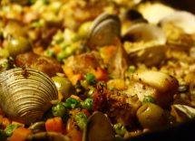 Come fare paella di pesce surgelata