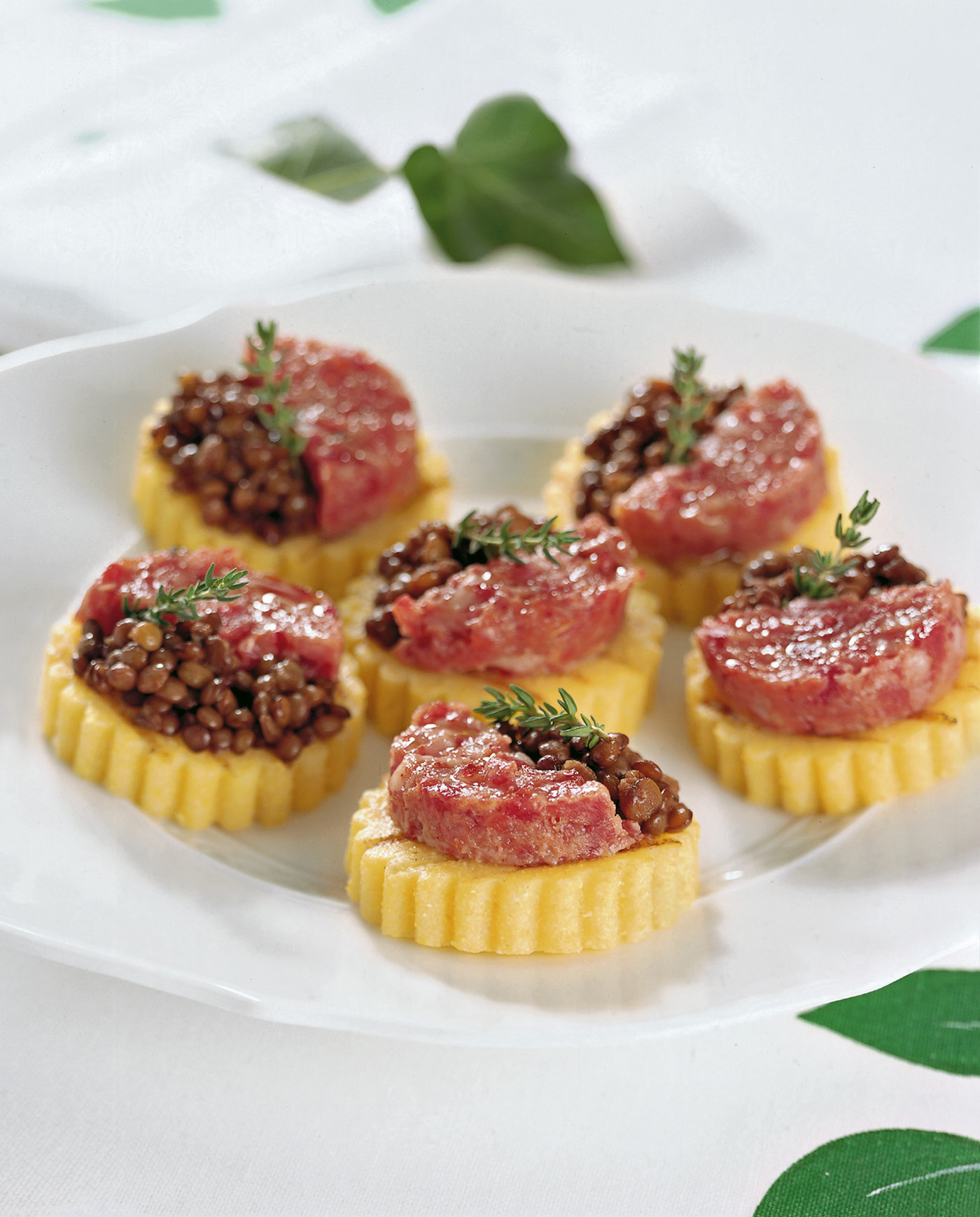 tartine polenta