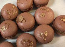 macarons al cioccolato
