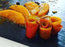 mango flambé