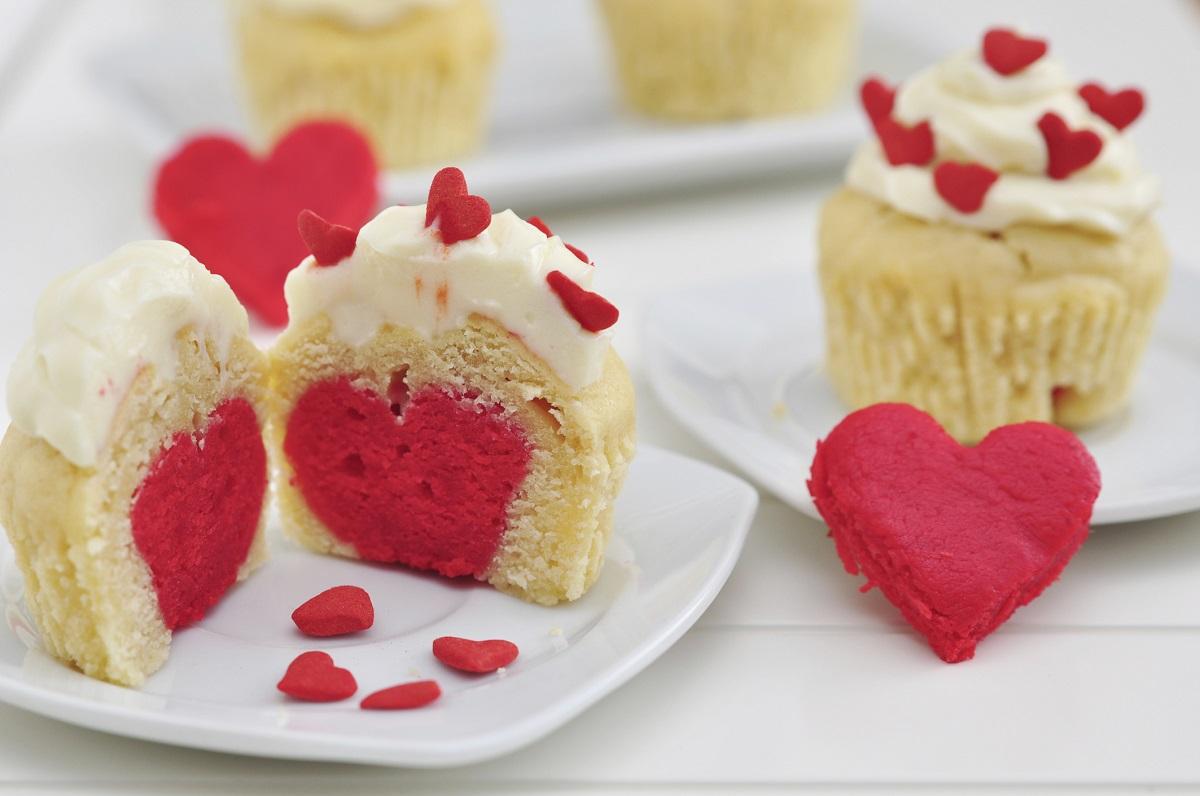 cupcake con cuore al centro 1
