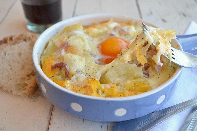 uova con formaggio