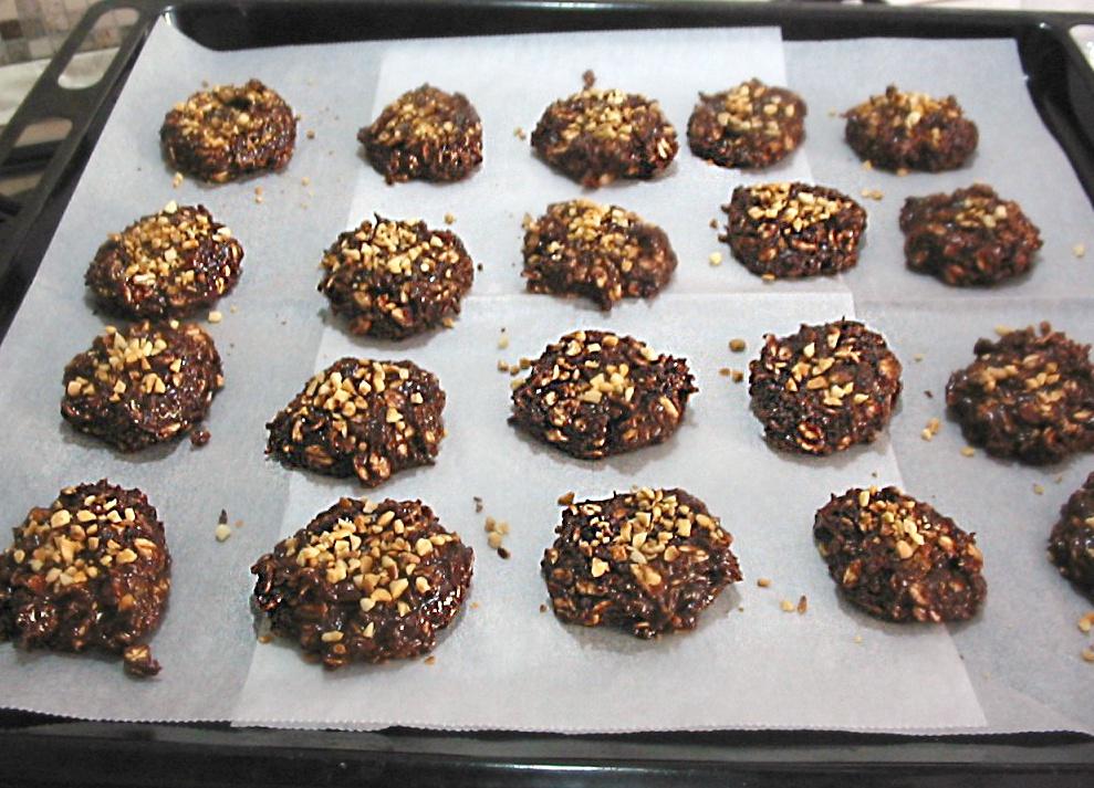 Biscotti alla nutella senza cottura4