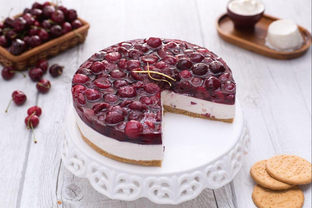 cheesecake ciliegie 1024x683