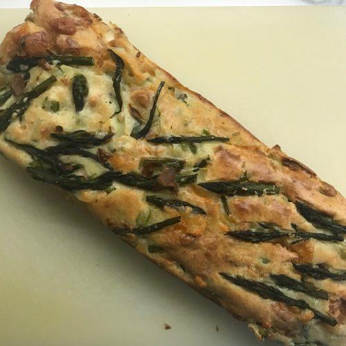 Plumcake asparagi e scamorza Bimby