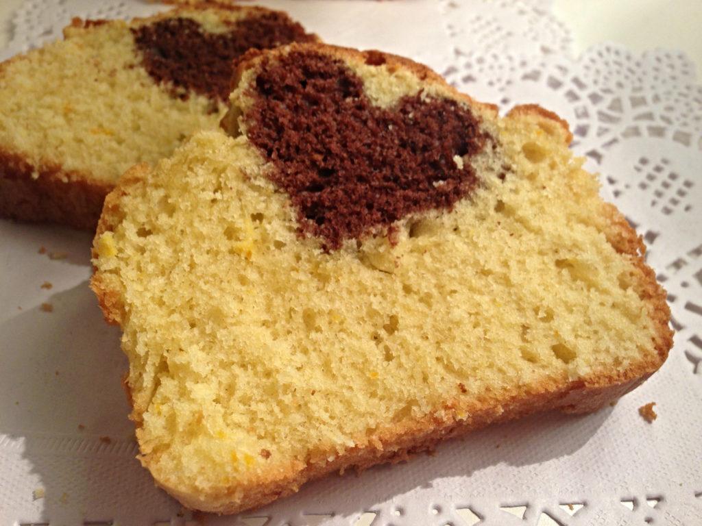 plumcake con cuore senza burro dolci senza burro 1 1024x768
