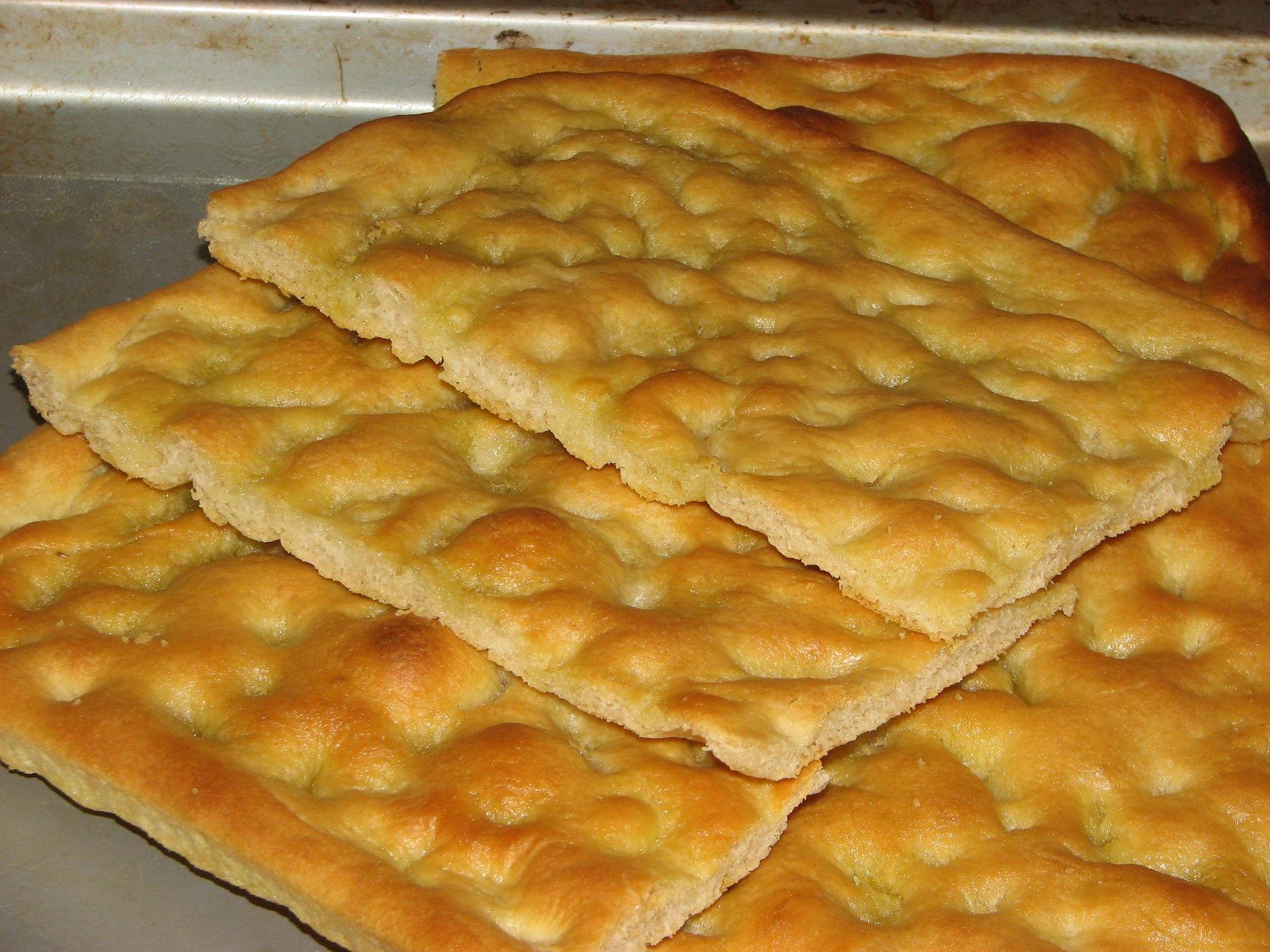 Focaccia Genovese Ricetta Originale Bimby.Focaccia Genovese Bimby Ricetta Semplice E Veloce Food Blog