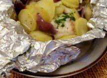 patate al forno al cartoccio