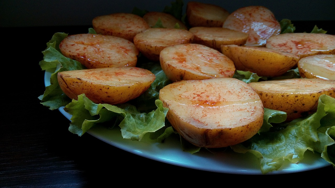 patate al forno con paprica