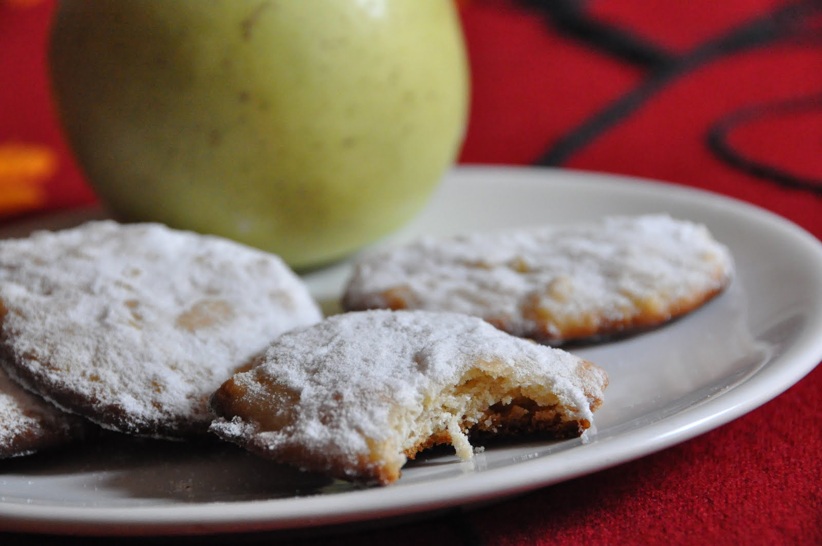biscotti di mele e curcuma