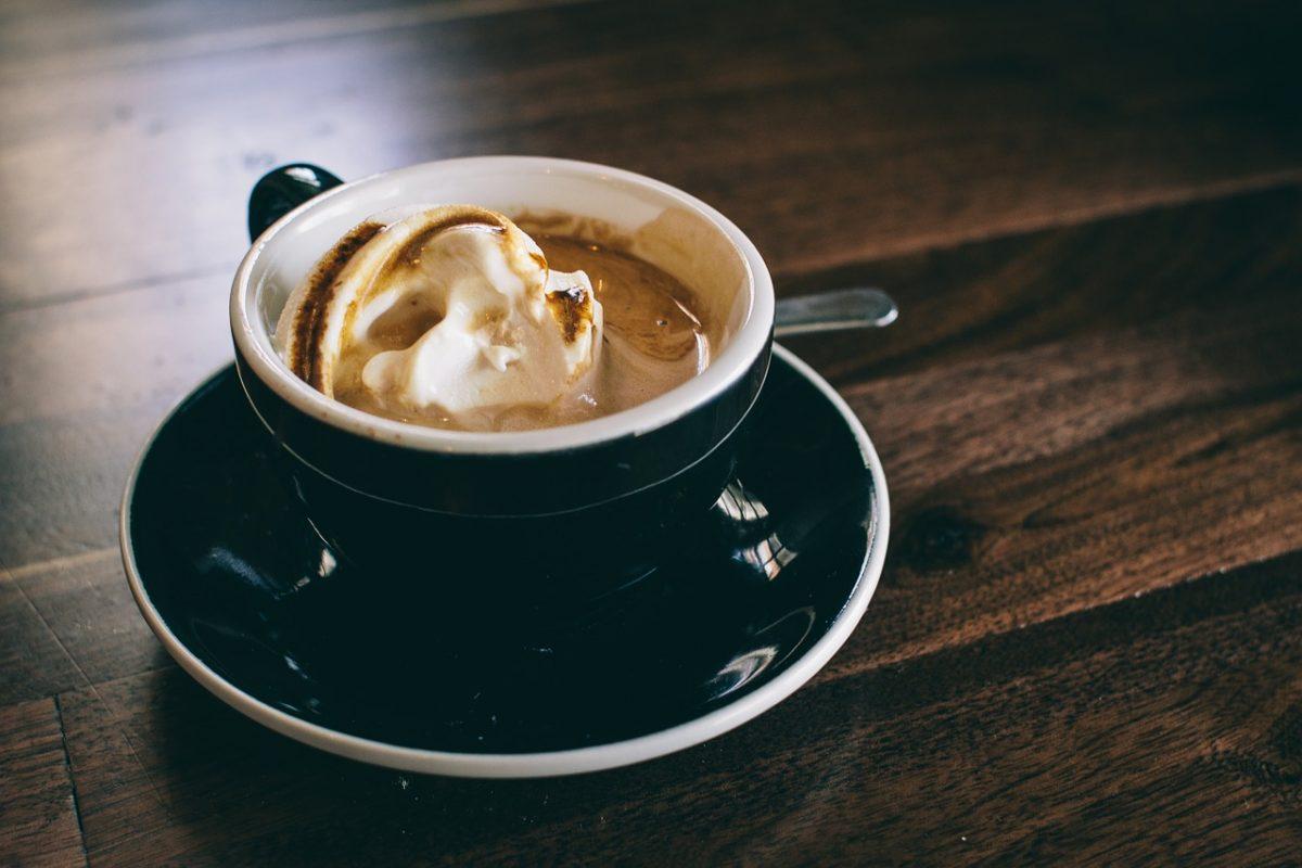 frullato di caffè
