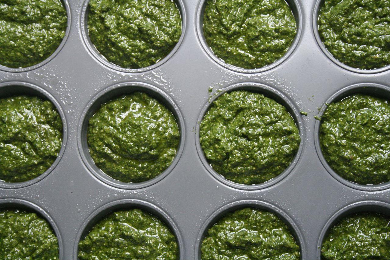 muffin al pesto bimby